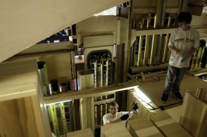 Kids-in-organ-loft